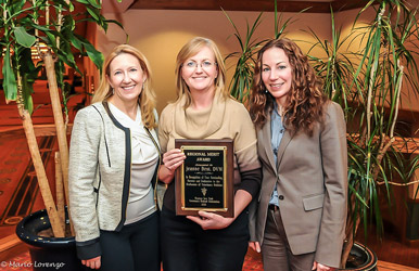 Dr. Best was awarded the Regional Merit Award from the Western New York Veterinary Medical Association.